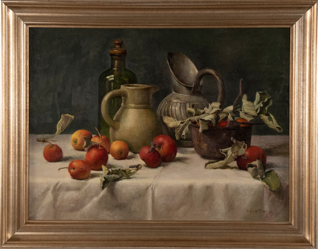 """Still Life with Pitchers"" by Ellen Baker"