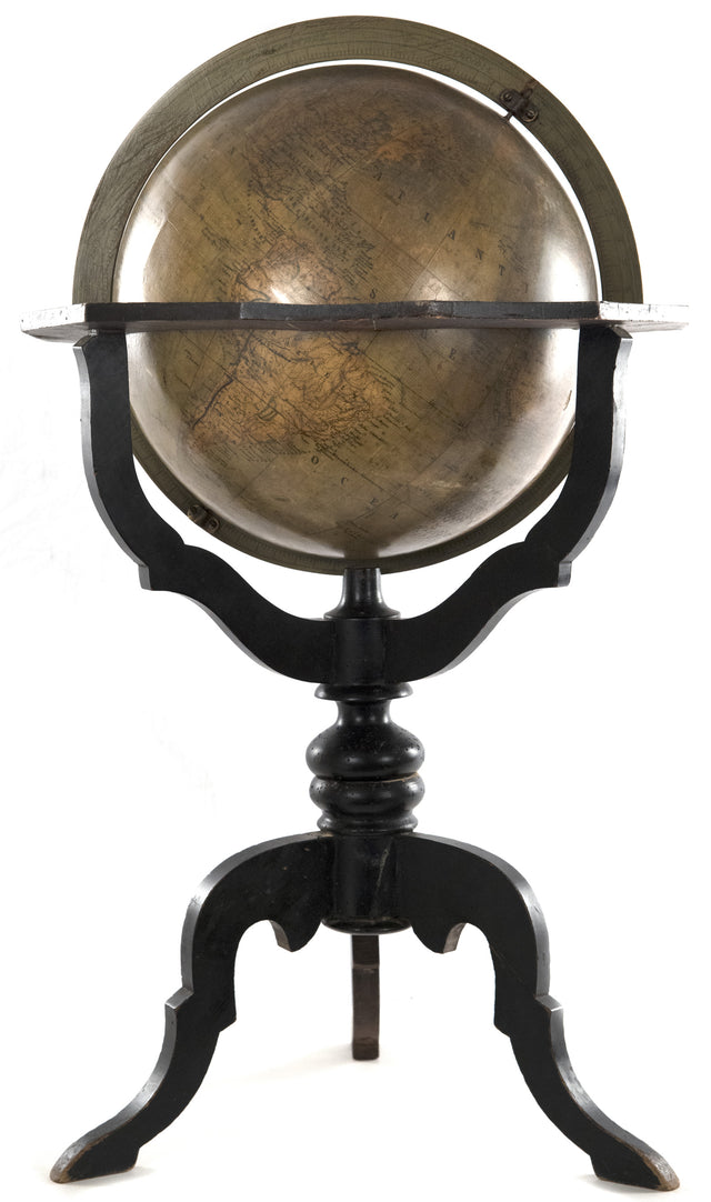 19th Century Dutch Globe by Felkl and W.J. Geerling