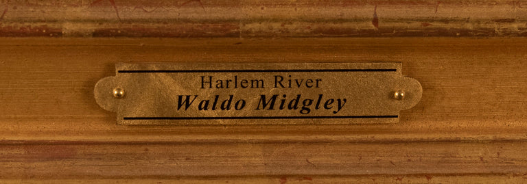 Harlem River (c. 1930) by Waldo Midgley