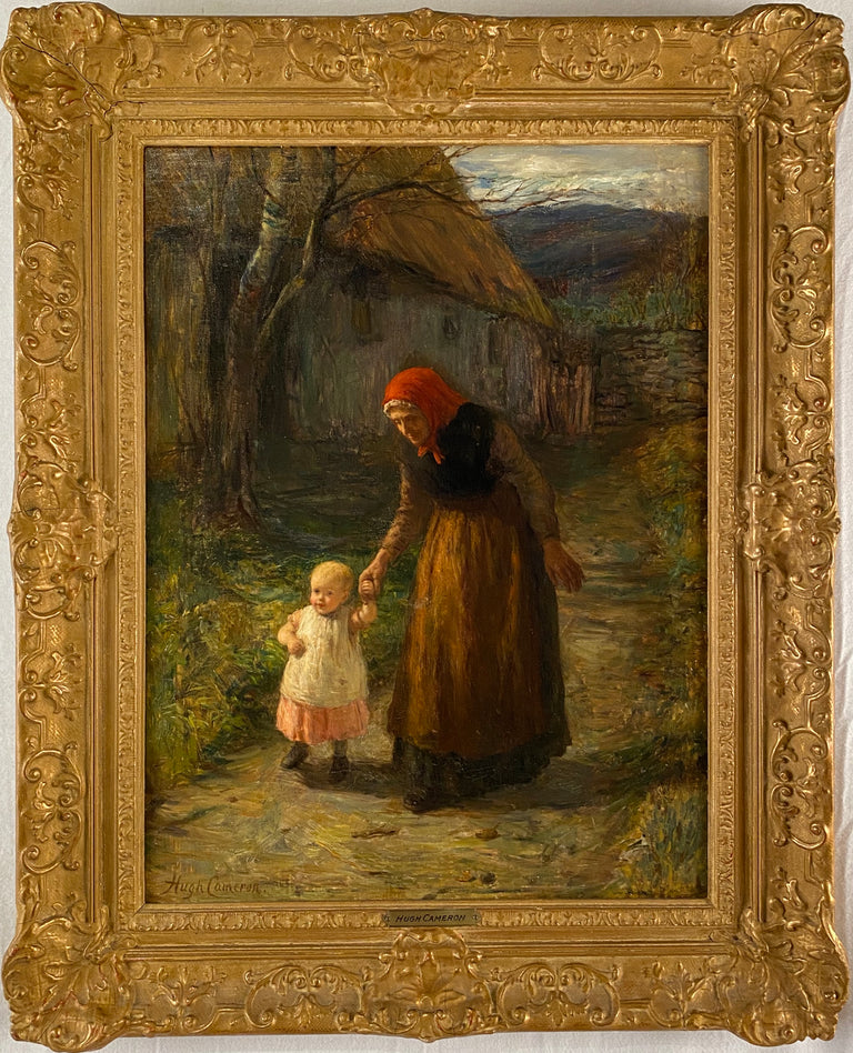 A Walk with Grandmother (c. 1880) by Hugh Cameron