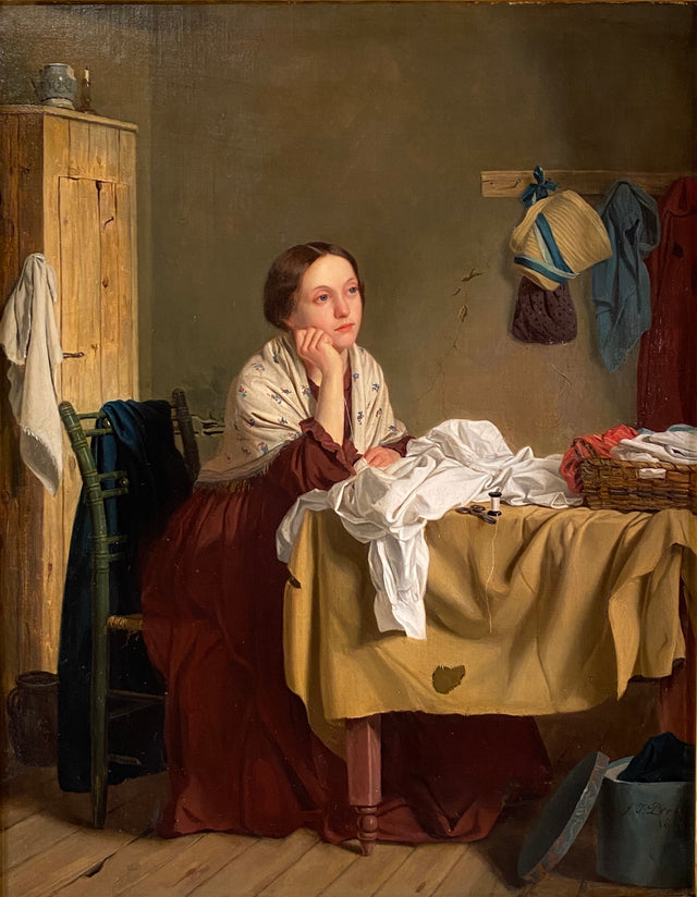 Song of the Shirt (1847) by John Thomas Peele