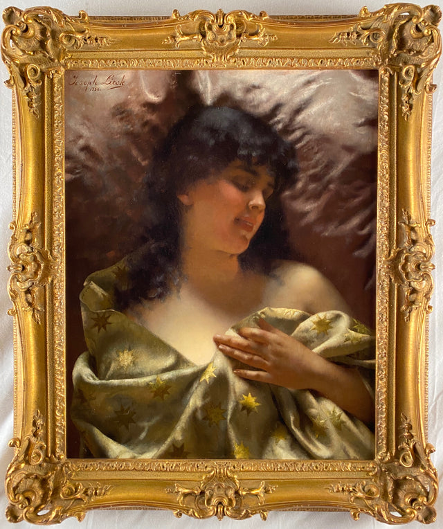 Sleeping Beauty (c. 1888) by Joseph Lieck