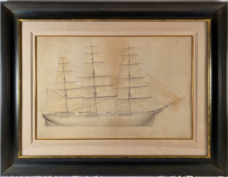 """Monarch of the Sea"" signed Burgess"