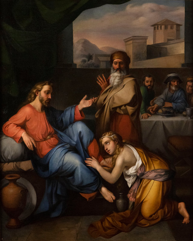 The Washing of Christ's Feet, Christ in the House of Simon the Pharisee (French, c. 1850)