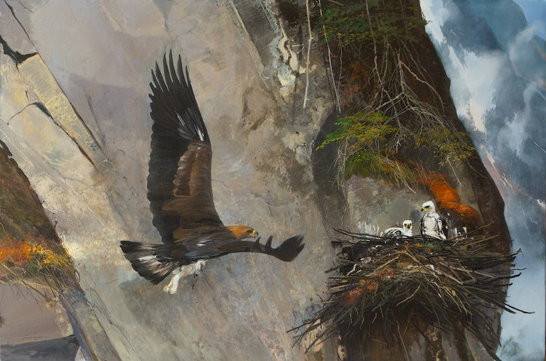 Under Eagles' Wings by Michael Coleman