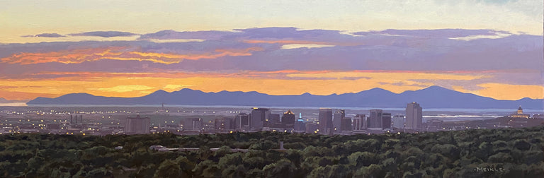 Salt Lake City by David Meikle