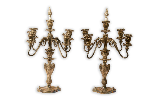 Set of Pairpont candelabras