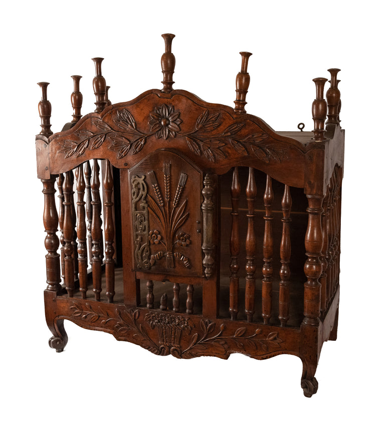 Eighteenth-century French Carved Walnut Panettiere