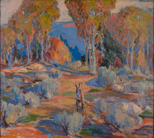 Sage Forest Landscape by D. Howell Rosenbaum
