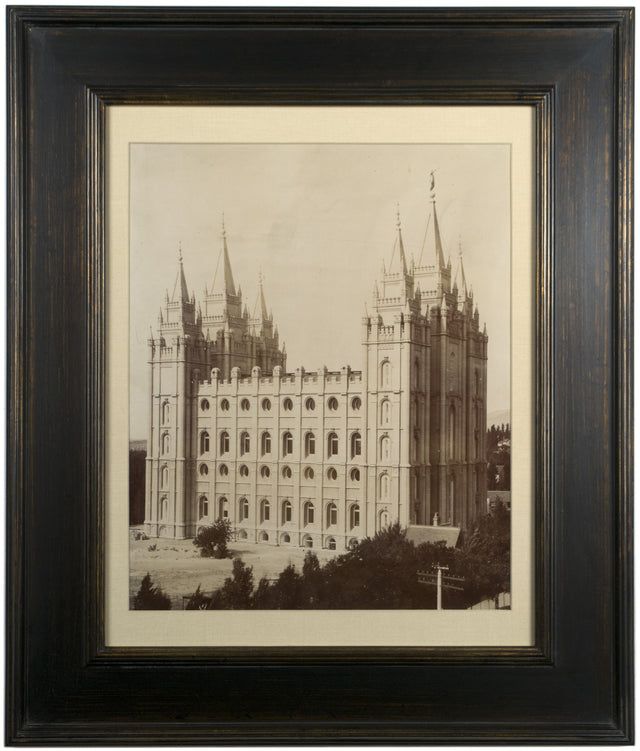 An 1893 Photograph of the Salt Lake Temple