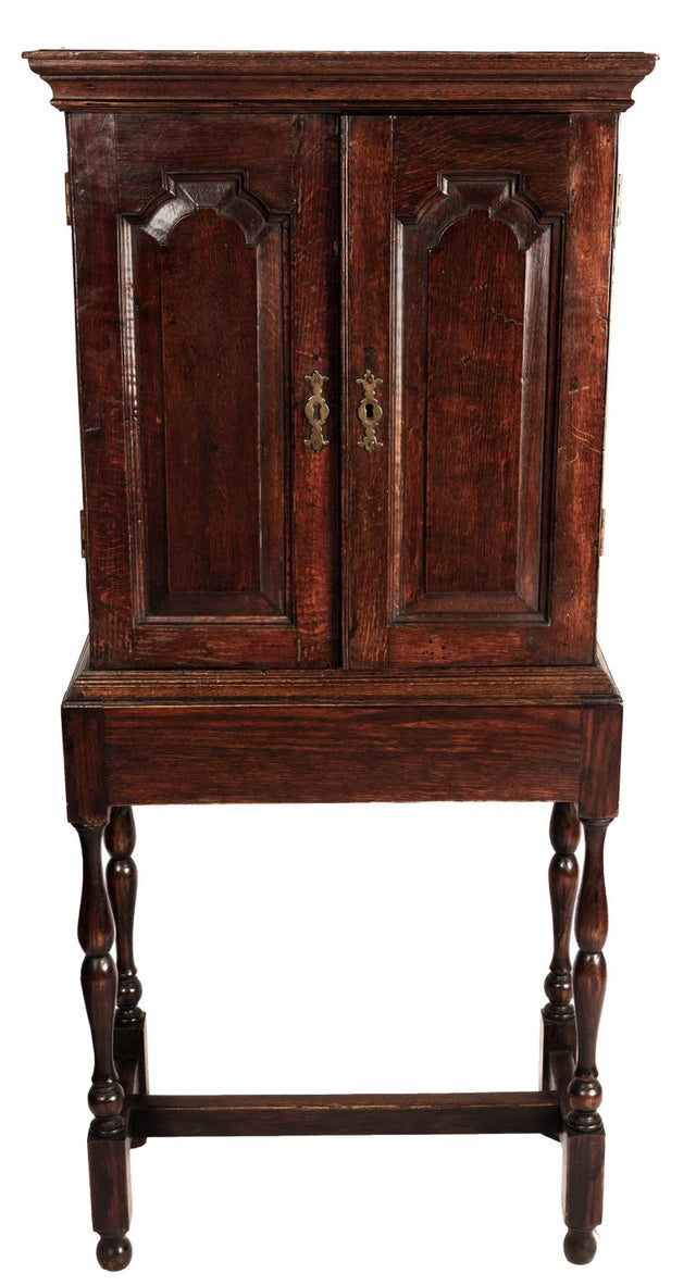 18th Century English Apothacary Cabinet