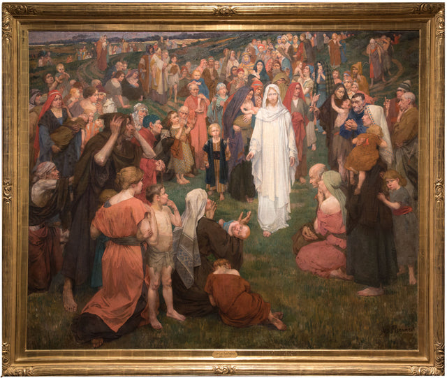 He Came and Healed (c. 1900) by Jozef Karel Frans Posenaer