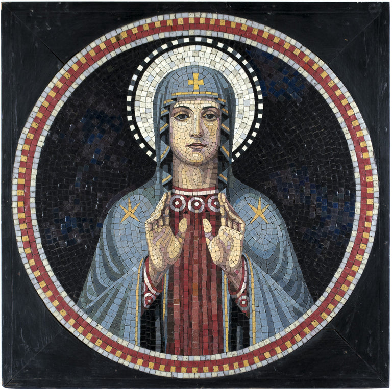 Italian Mosaic of Mary