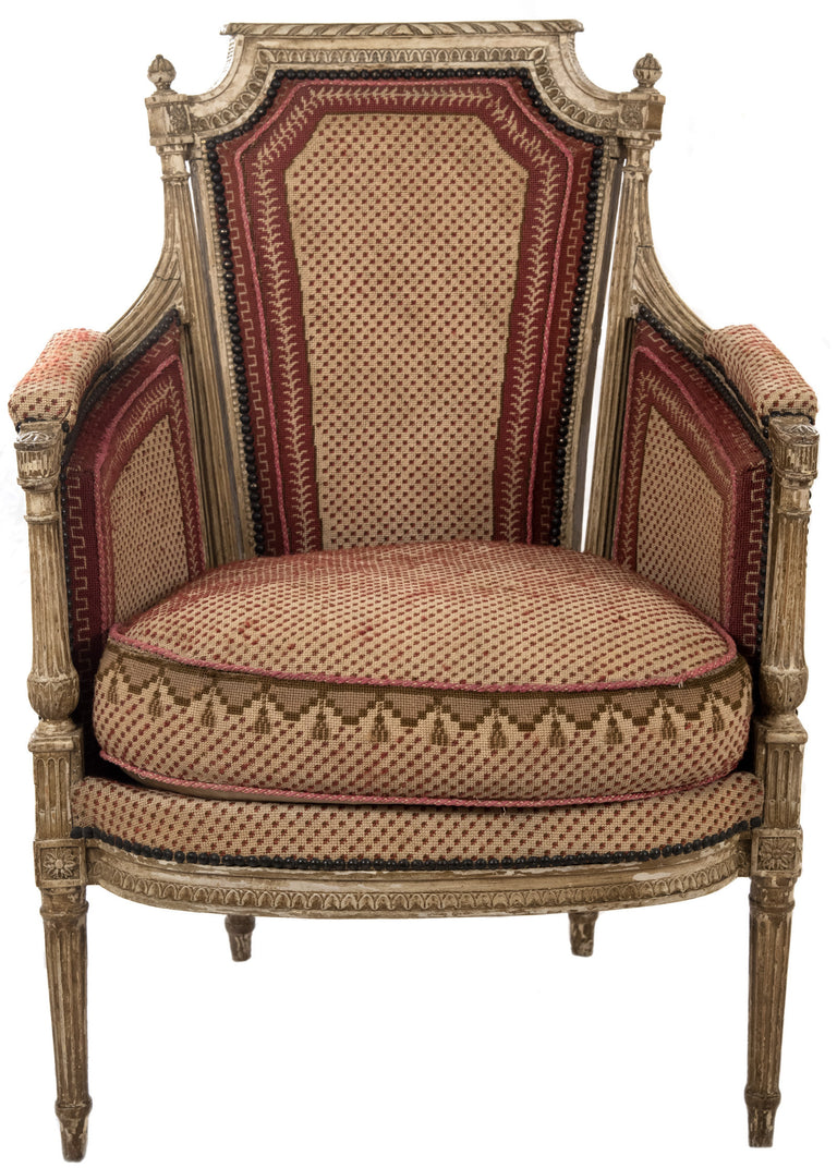 Two pairs of Period Louis XVI Arm Chairs