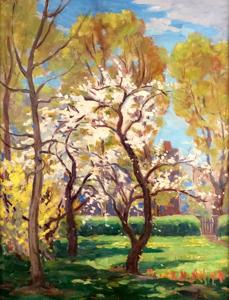 Apricot Blooms, 1933 by Lee Greene Richards (1878-1950)