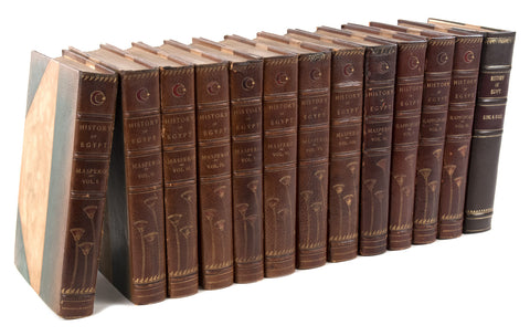 History of Egypt, A 13 Volume Set (Rappoport - Maspero - King/Hall)