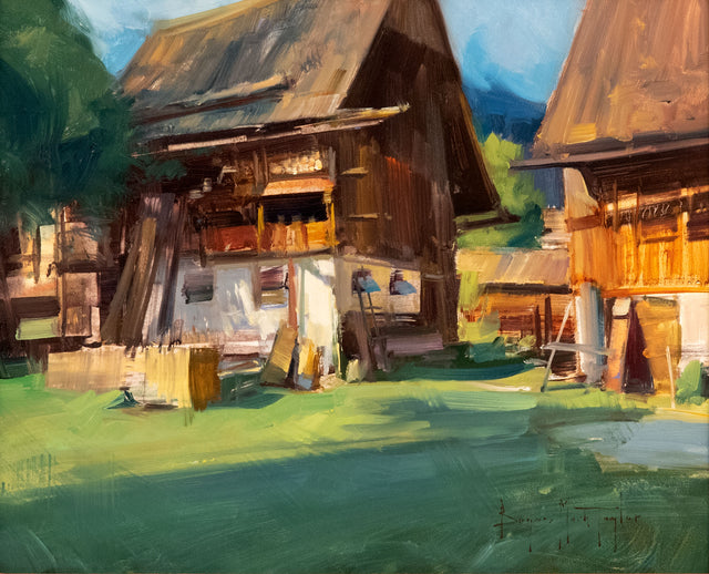 Barns by Bryan Mark Taylor