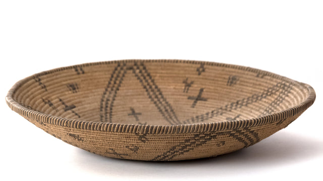A Fine Yavapai Apache Basketry Bowl