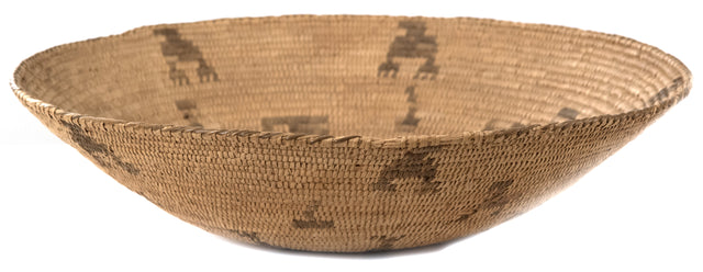 Southwest Basketry Turkey Tray