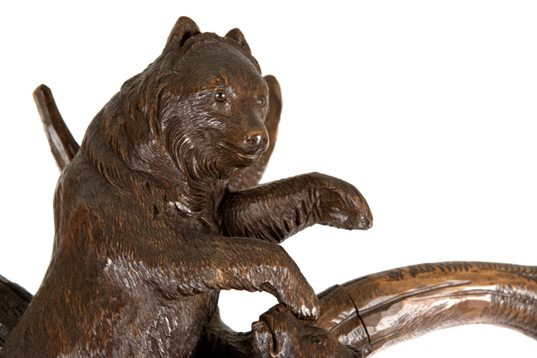 A 19th Century Black Forest Bear Hall Tree