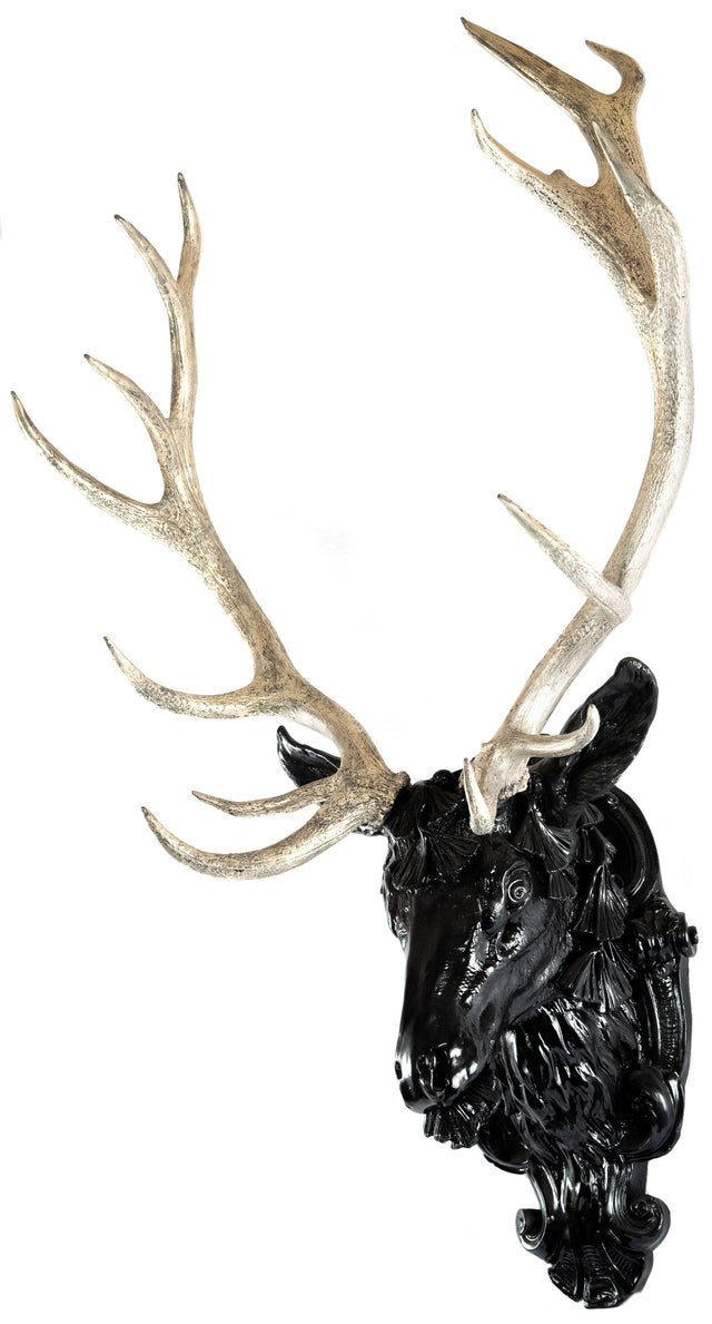 European Gilt Red Deer Stag Head
