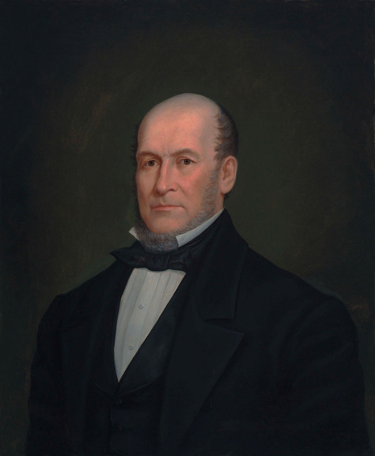 Heber C. Kimball (1865) by Enoch Wood Perry Jr.