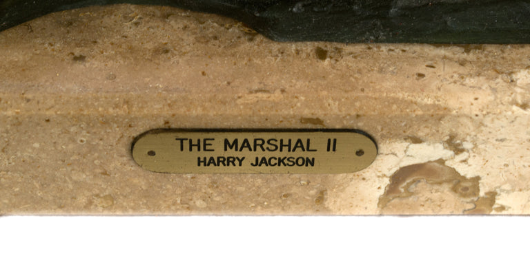The Marshal II by Sculptor Harry Jackson
