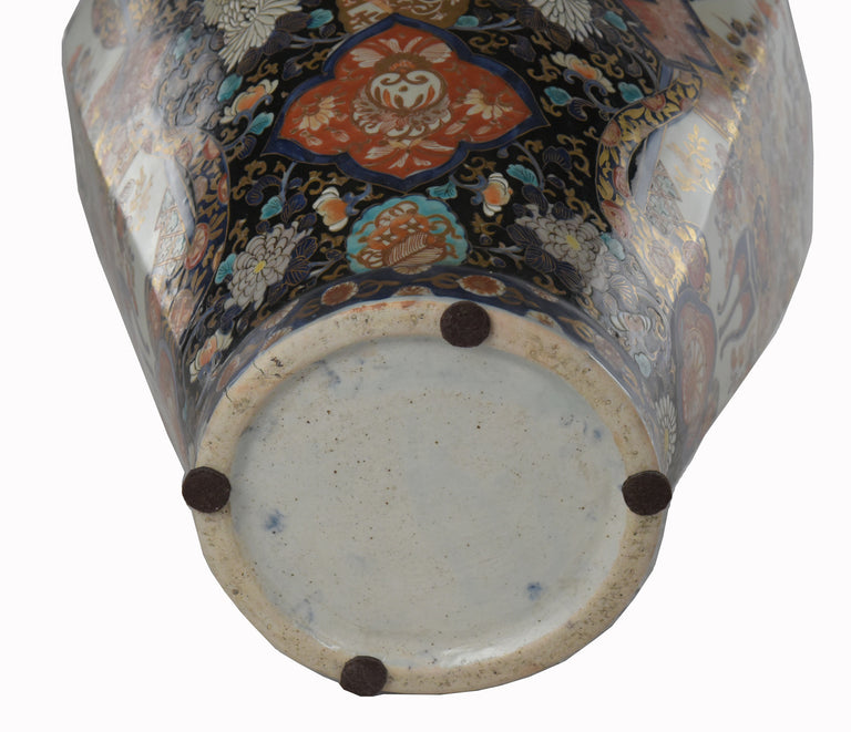 A Pair of Imari Vases from the Estate of F.D. Roosevelt