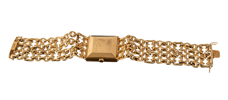 18-Karat Gold Corum for Cartier Wristwatch