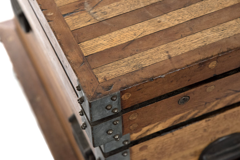 Wooden Cabinet Maker's Tool Chest