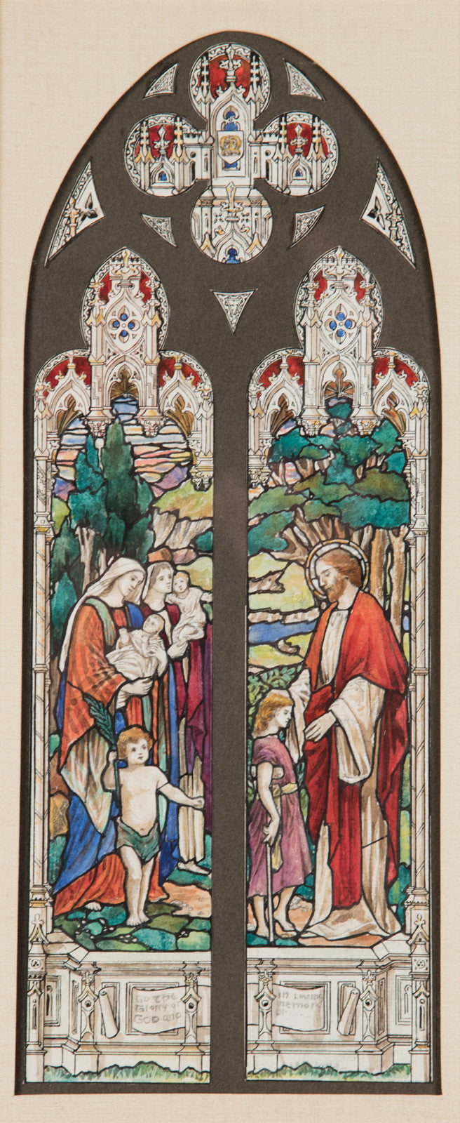 Christ Blessing the Children by William Camm