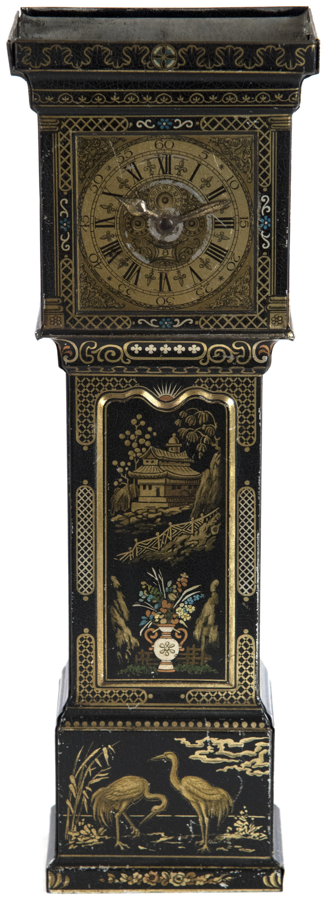 Huntley & Palmers Grandfather Clock Biscuit Tin