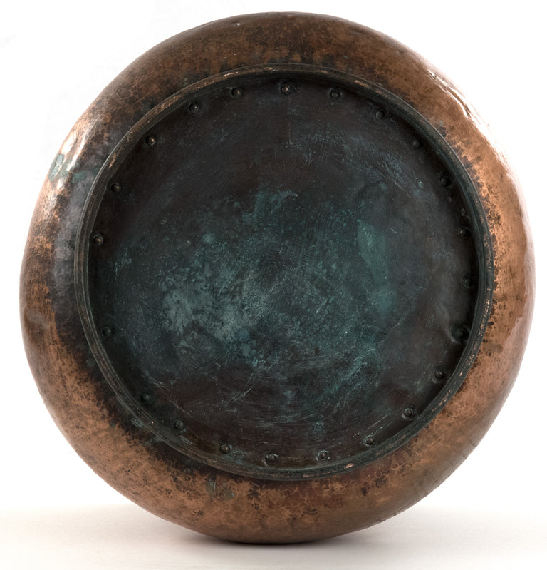 Hand-hammered Copper Pot