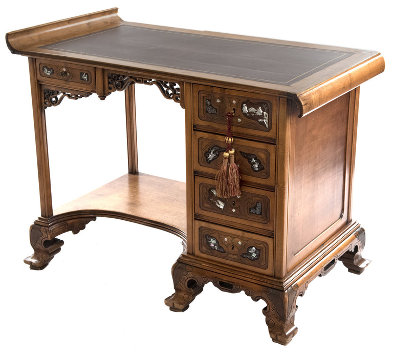 French Chinoiserie Desk after Gabriel Viardot (1830—1906)