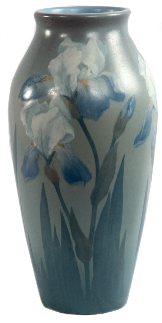 Rookwood Vase with vellum glaze by Ed Diers (American, 1871-1947)