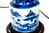 Qing Dynasty Porcelain Mallet-Shaped Lamp