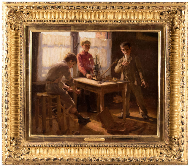 "Juvenile Builders (1905) by James Taylor ""J.T."" Harwood"