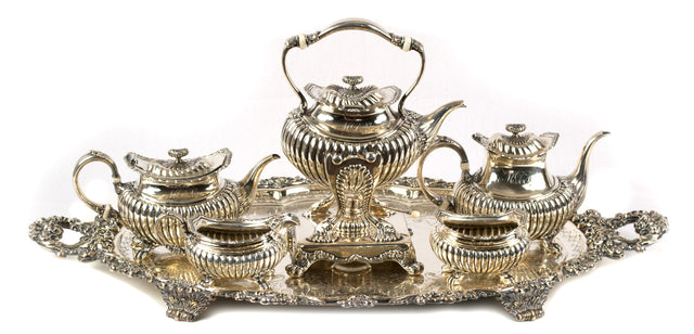 Five-piece Sterling Tea and Coffee Service by Gorham