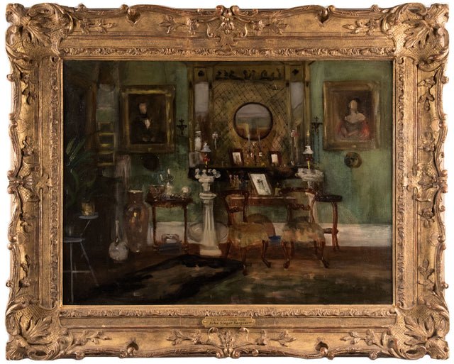 The Artist's Drawing Room (1885) by John Singer Sargent