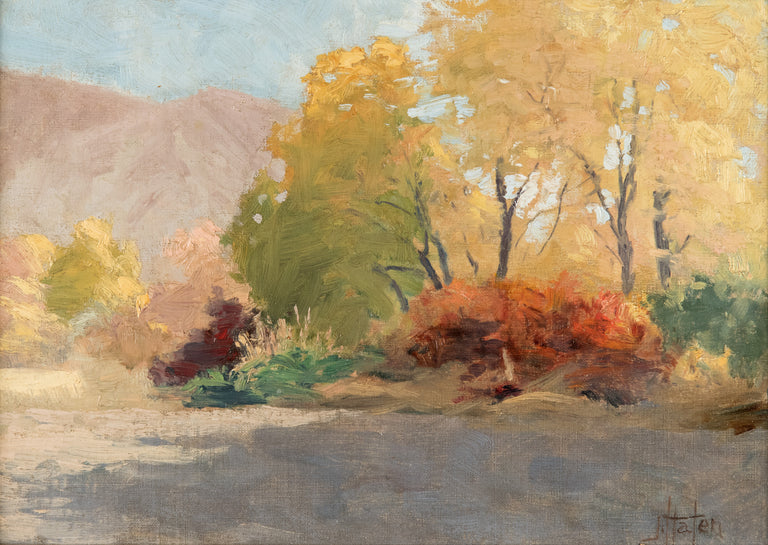 Landscape Study in Utah Valley by John Hafen
