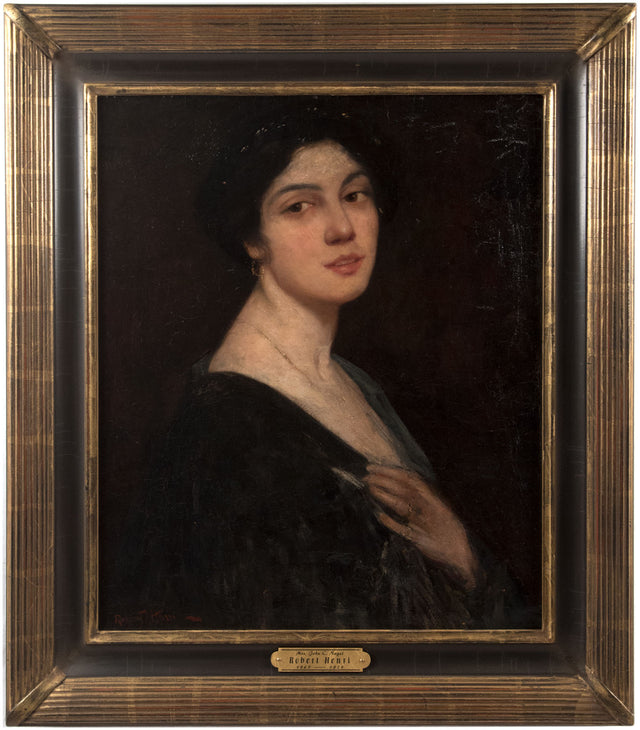 Mrs. John C. Nagel by Robert Henri