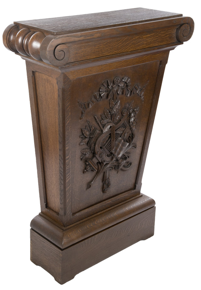 20th Century Oak Pedestal Stand