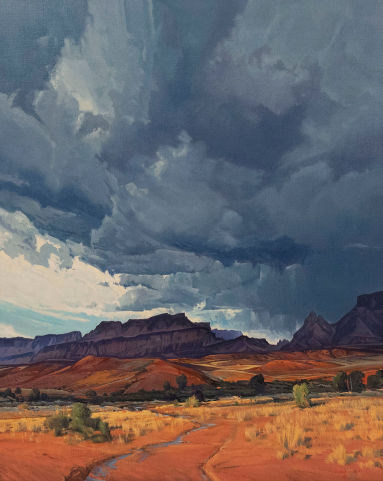 Clearing Storm Over Moab by George Handrahan