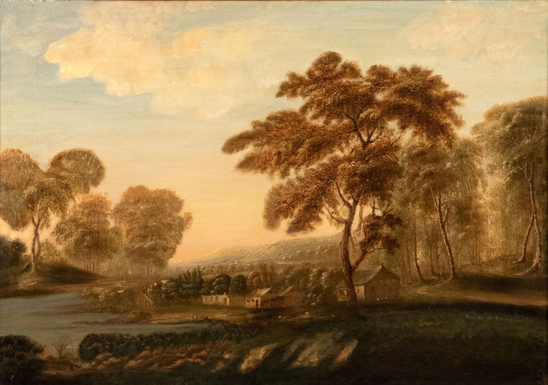 Pastoral Landscape by 18th Century French School