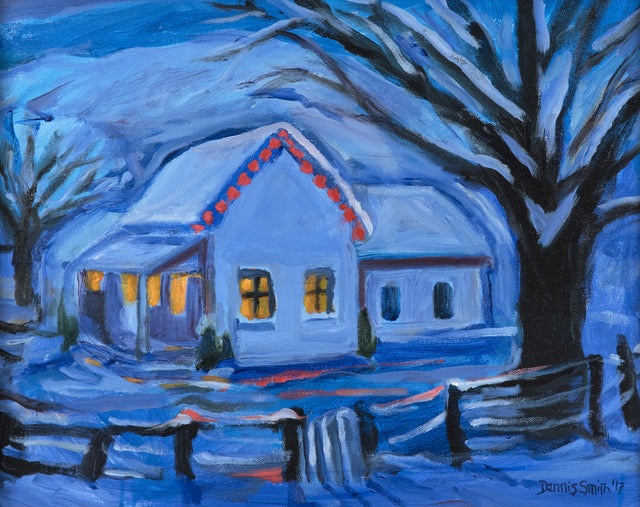 """Late Christmas Eve"" by Dennis Smith"