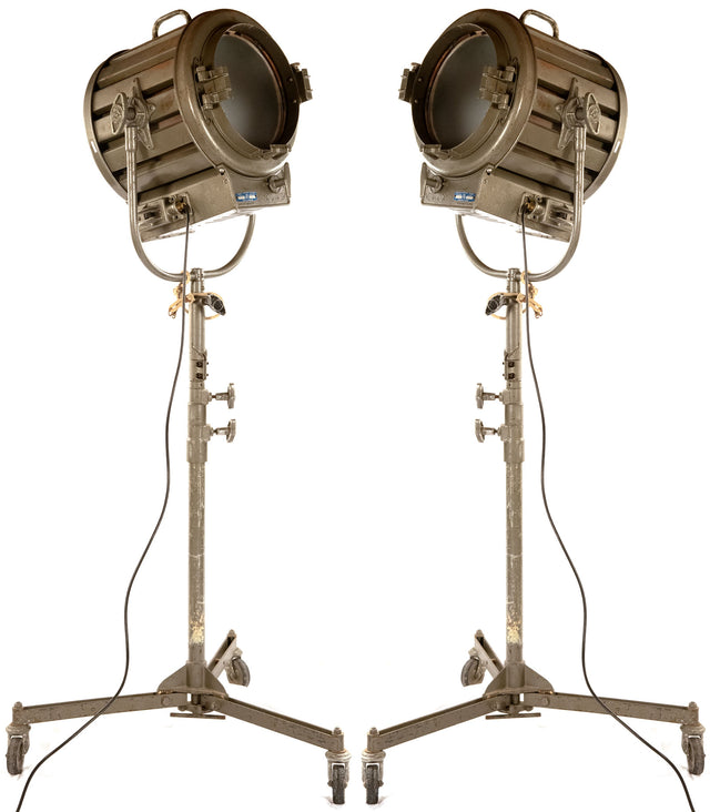 A Pair of English Movie Studio Lights
