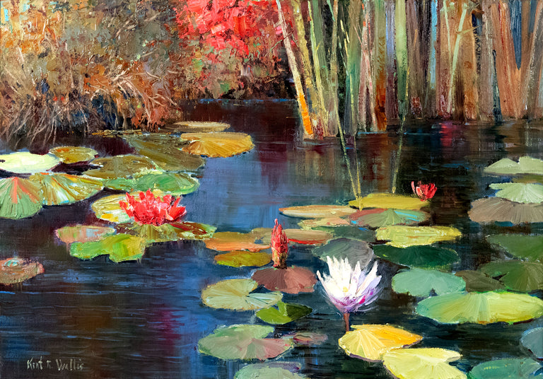 Splendid Lillies by Kent Wallis