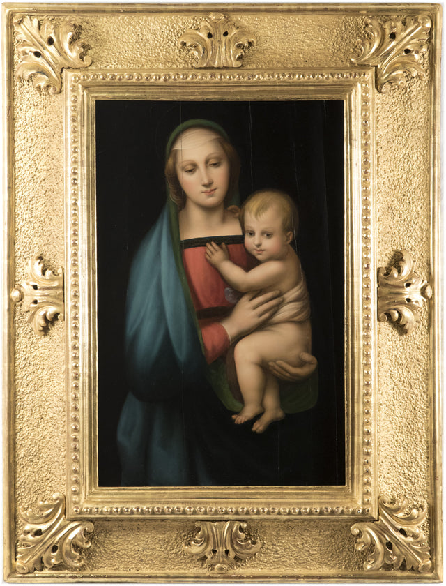 19th Century Copy of Raphael's Madonna del Granduca