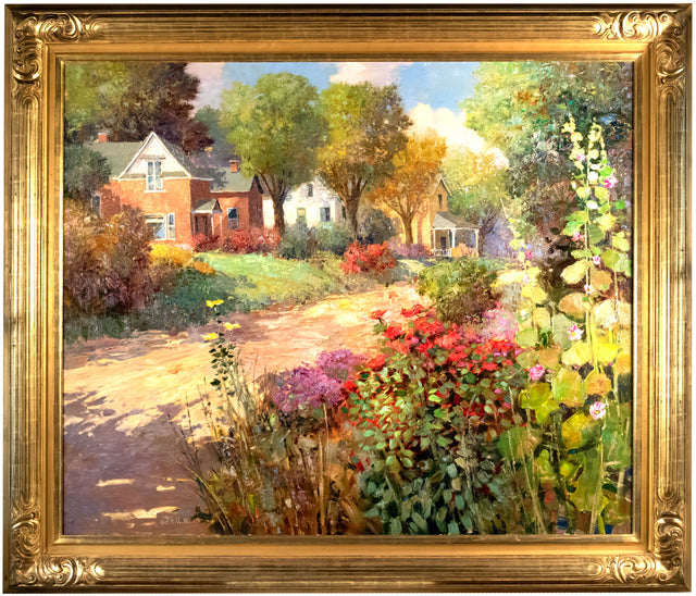 Nostalgic Neighborhood by Kent Wallis
