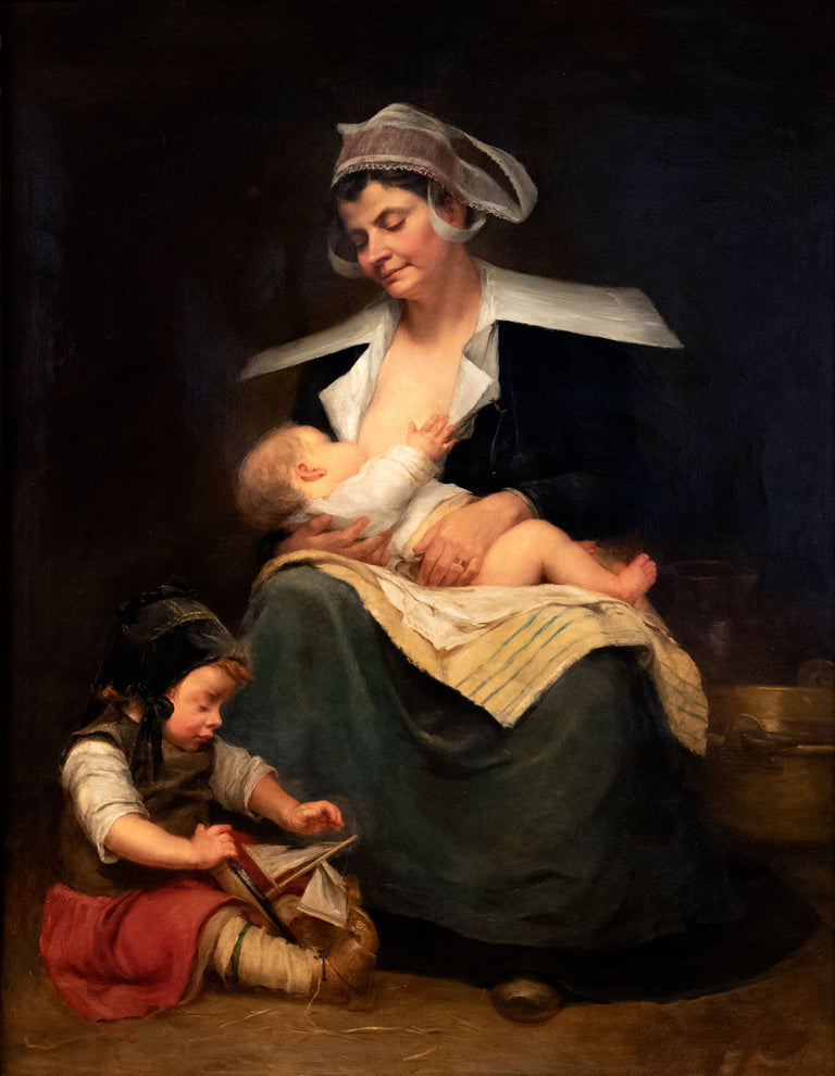 Nursing Mother by Anonymous